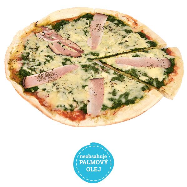 Pizza špenátová