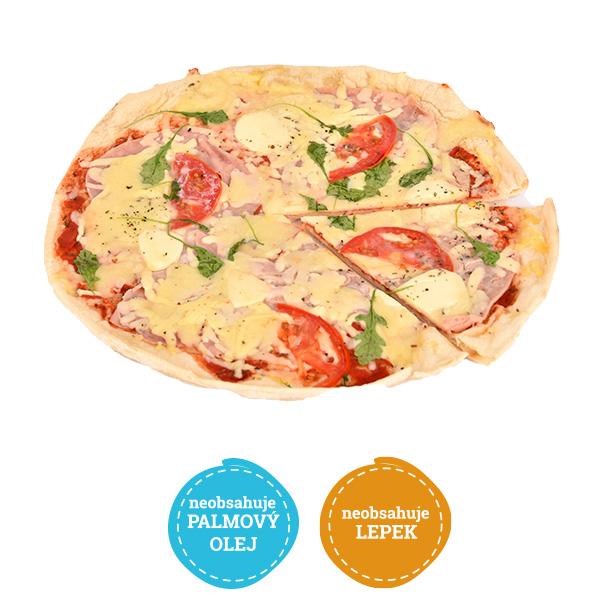 Bezlepková pizza šunková extra