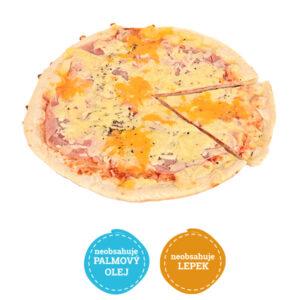 Bezlepková pizza šunková