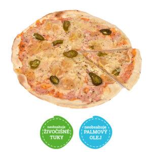 Pizza tvarůžková