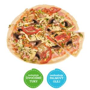 Pizza vegetarián